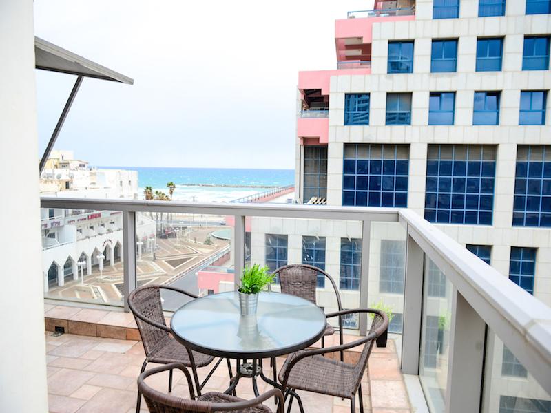 Hayarkon Beach View Duplex Apt #13